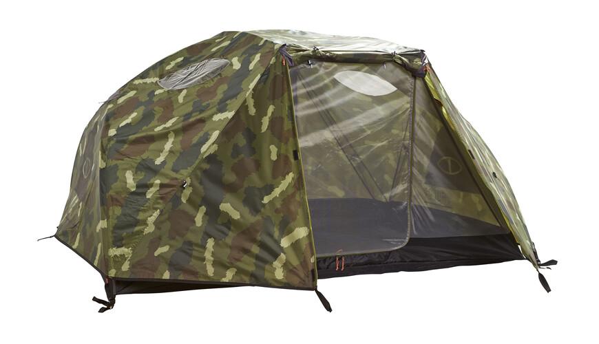 POLER The Two Man tent groen